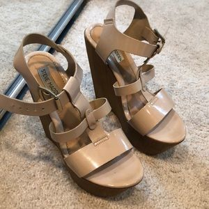 Classic Nude Wedges